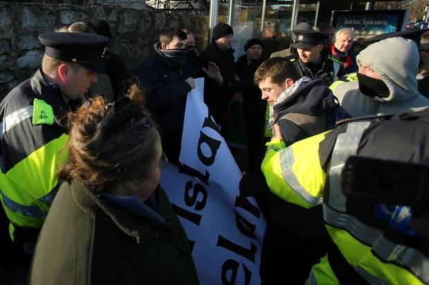 Ireland Protest 3