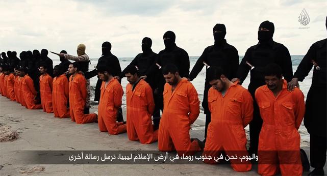 21 egipcios coptos cristianos decapitados por ISIS