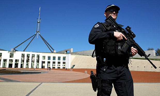 Parliament house security