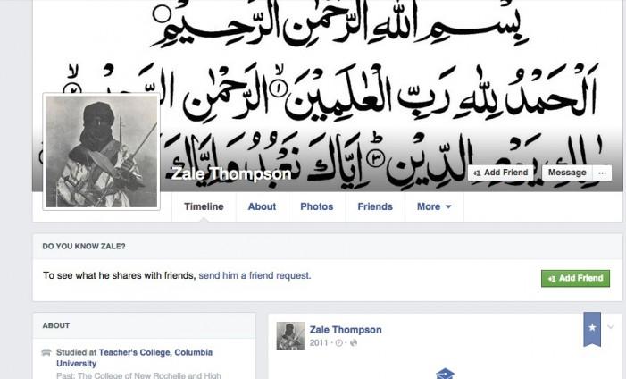 Zale Thompson Muslim convert hatchet attacker