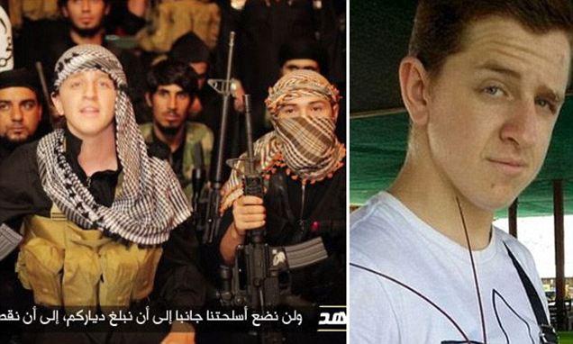 Australian Ginger Jihadi Abu Khalid (right)