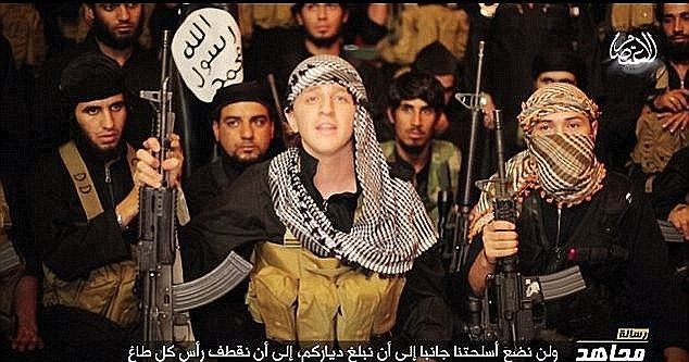 Another Australian teen, known as Ginger Jihadi Abdullah Elmir gained notoriety when he declared that ISIS will not stop their murderous campaign 'until the black flag is flying high in every single land'