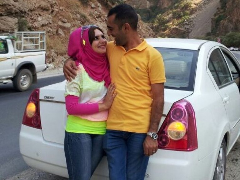 Ahmed-al-Jumaili & wife