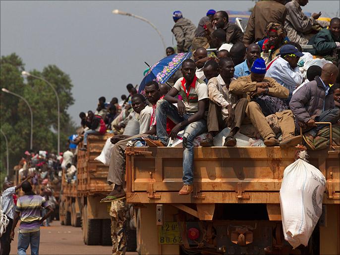 Ahora musulmanes huyen CAR en unidades