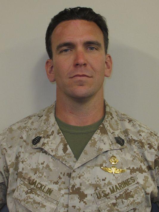Gunnery Sergeant Brian Jacklin