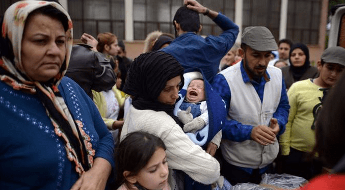 Bulgaria is being flooded with Syrian Muslim illegals