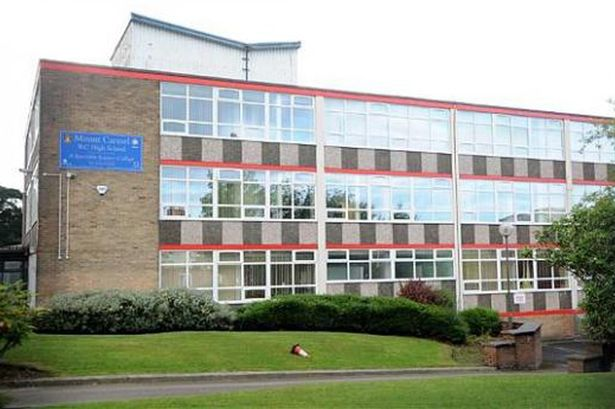 Mount Carmel Roman Catholic High School in Accrington, Lancashire,