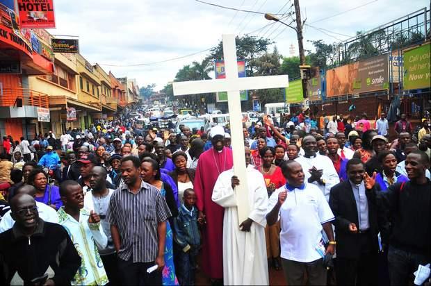 Uganda y cristianos