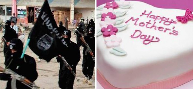 """ISIS considera día de la madre para ser """"herejía"""" y prohibió cualquier celebración de la misma incluyendo pasteles"""