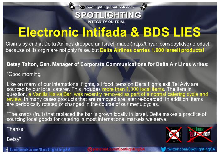 BDS-lies