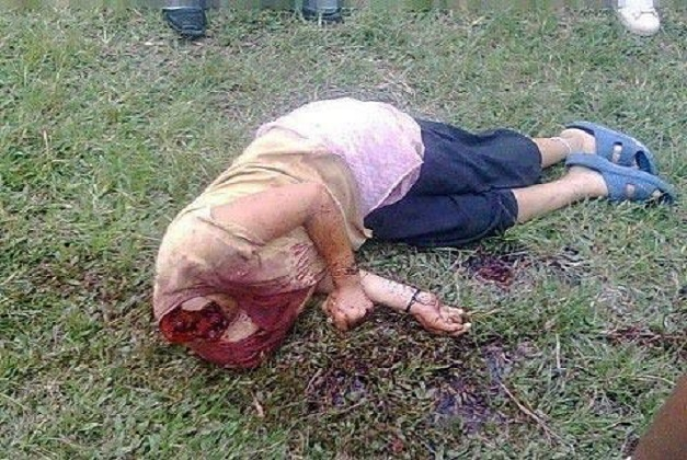 Buddhist woman beheaded by Muslims in Myanmar