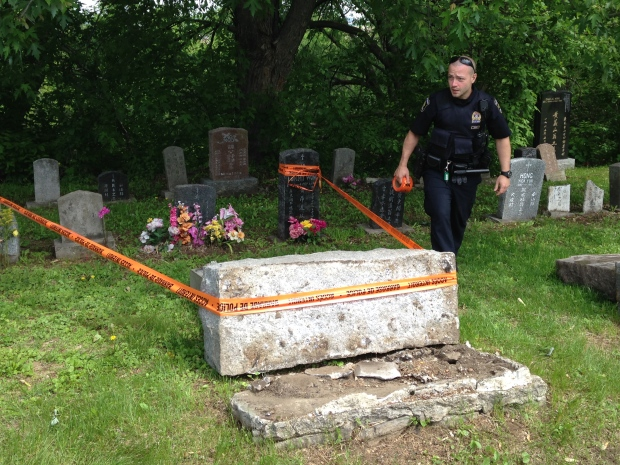st-charles-cemetery-damage-police