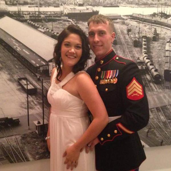 MURDERED USMC SGT. CARSON HOLMQUIST, 25