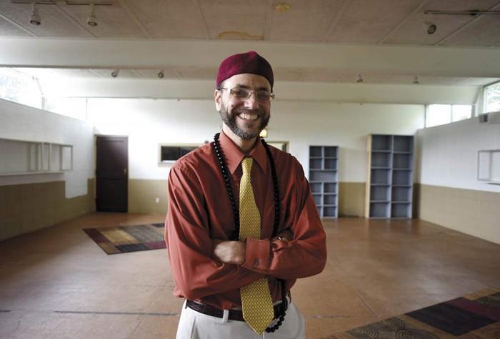 Salih Erschen, leader of new Islamic indoctrination center