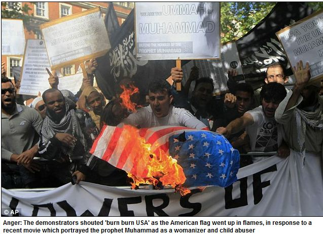tards-in-uk-burn-us-flag-15.9.2012
