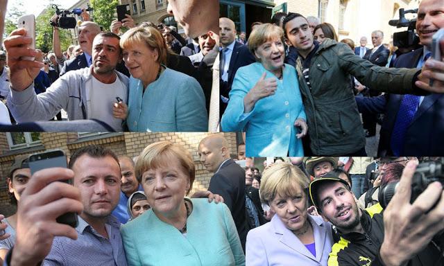IslamoNazis love Merkel