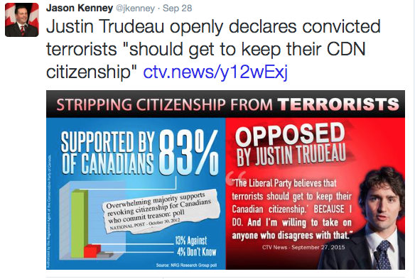 kenney trudeau terrorist