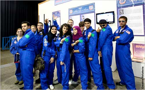 Nearly 50 Libyan Muslims have trained as astronauts at the U.S. National Space & Rocket Center's Space Camp since 2009,