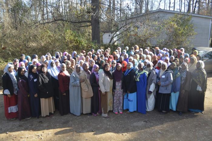 Female residents of Islamville