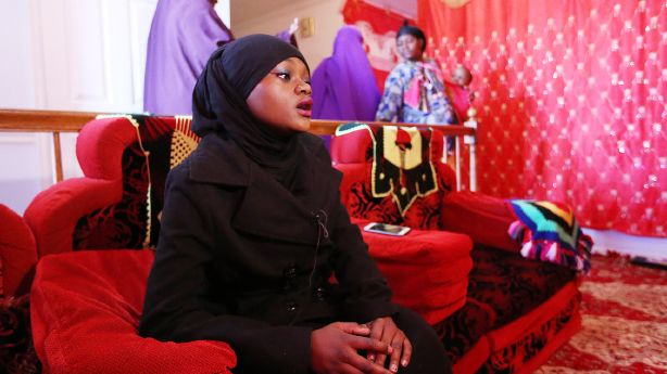 Mohammed's cousin Muslima Waladi