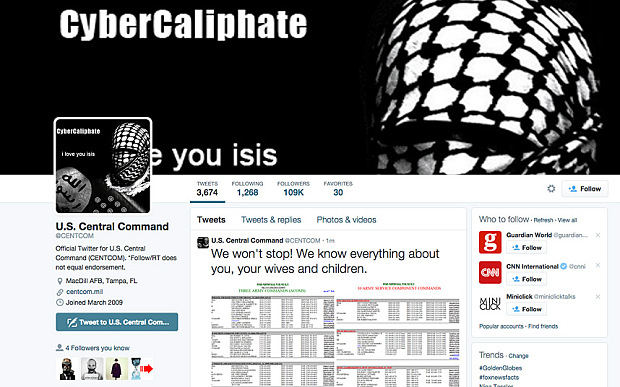 Twitter allows ISIS to threaten US Military