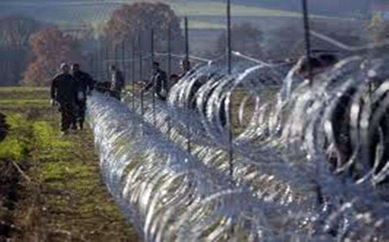 Anti-Muslim migrant fence in Slovenia