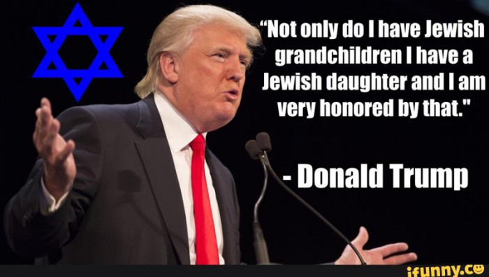 Image result for trump's jewish grandchildren nazi
