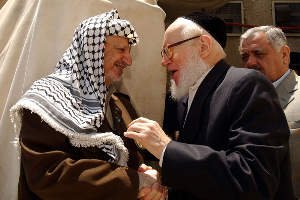 NK Rabbis were close with Yassir Arafat of the PLO