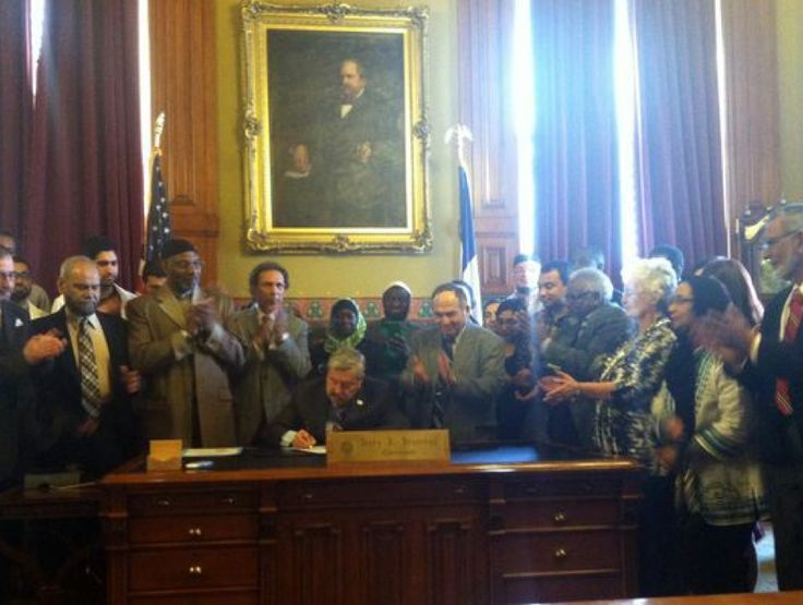 """Gov. Terry Branstad declared the day """"Muslim Recognition Day"""""""