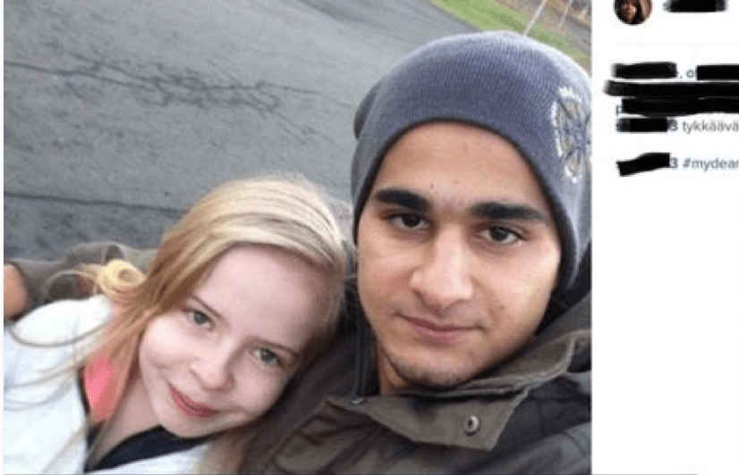 Muslim guy dating white girl