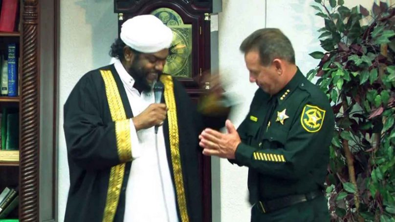 In the Broward County Sheriff's Office, under the leadership of Sheriff Scott Israel (right), Islamic extremists are embraced.