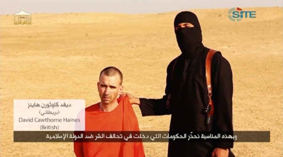 Jihadi John before he beheaded British citizen