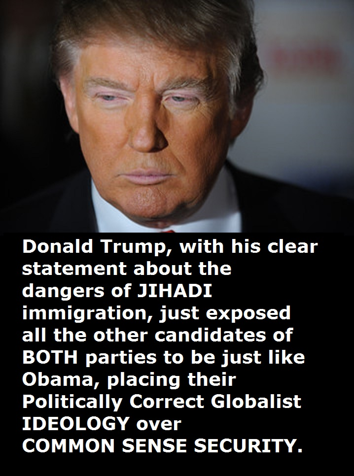 Donald Trump Jihadi Immigration