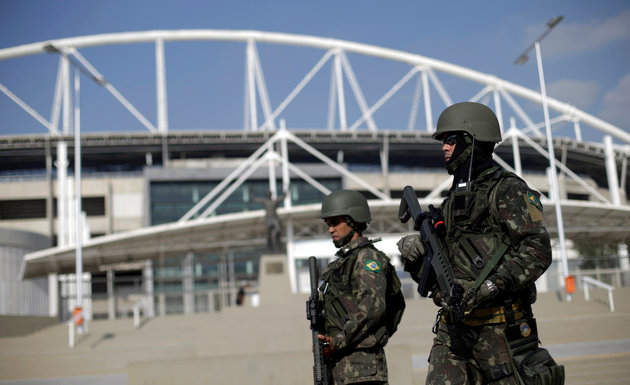 Brazilian Army soldiers