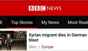 BBC-Syrian-migrant-dies-in-German-blast