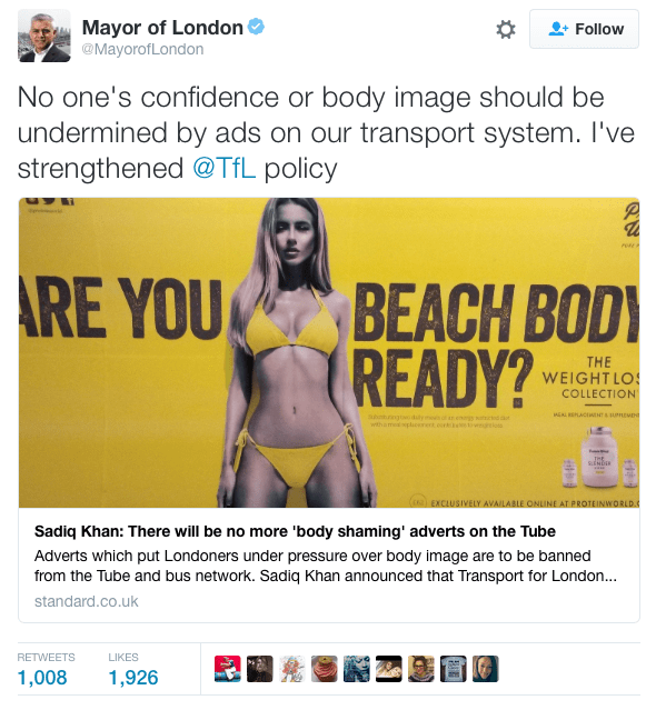 Bikini Ad