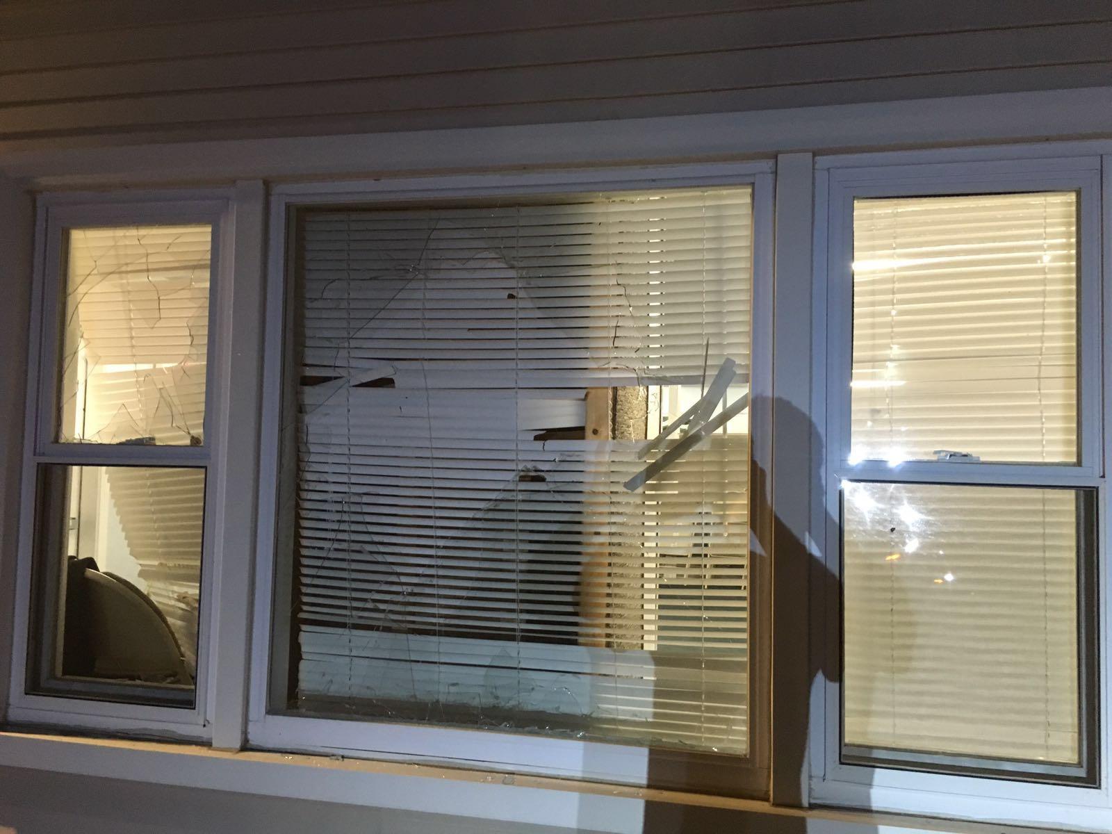 Broken window, oh noes!