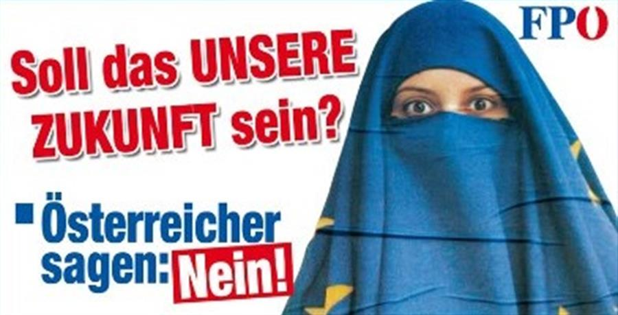 Partido de la Libertad de Austria ha estado tratando de hacer el airbag de cabeza musulmana prohibió