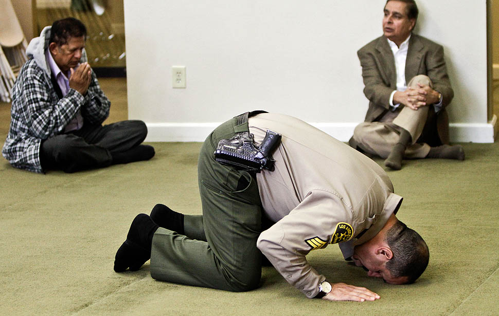Will prison guards be getting lessons in asslifting to Allah, too?