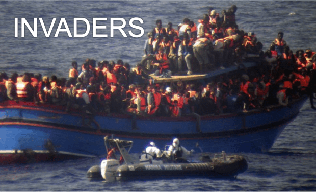 Thousands of Muslim invaders continue to flood Italy every week