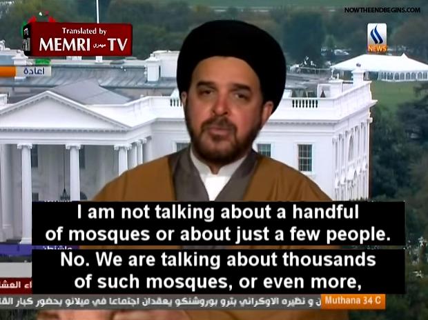 BEWARE of Muslim colonization!