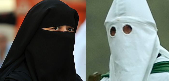 GEORGIA: In a state that has banned the wearing of face ...