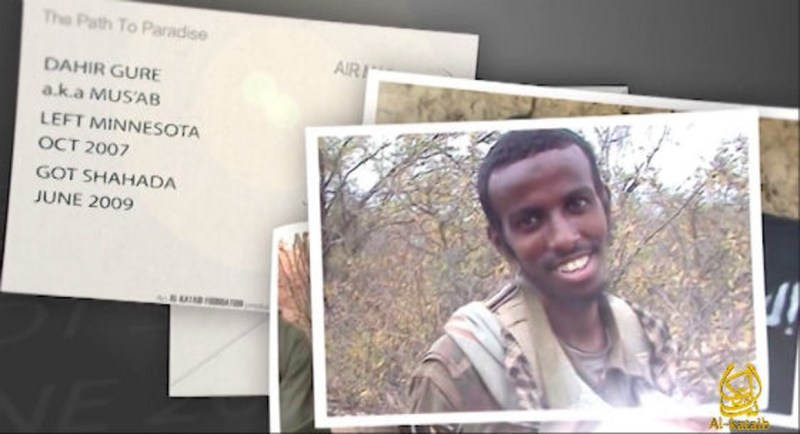 Al-Shabaab's latest recruitment video features the stories of three men who traveled from Minneapolis to Somalia for jihad.