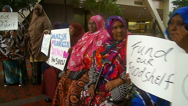 Somali Mulslms in America demand free halal food funded by the American taxpayers