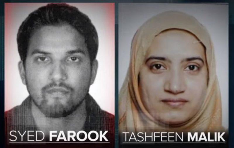 San Bernardino terroristas musulmanes