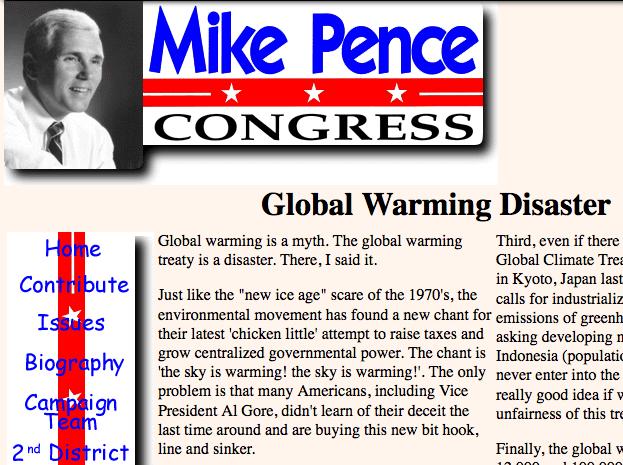 penceglobalwarming