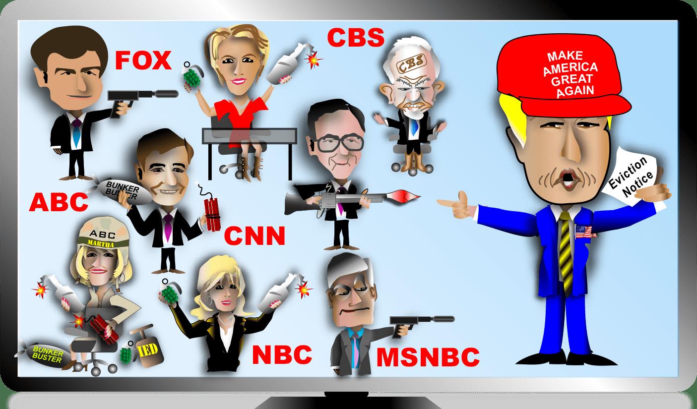 Image result for press vs trump