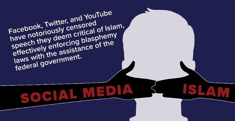 Image result for pics of islamic incitement on social media