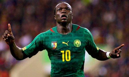 Cameroon Aboubakar to Everton