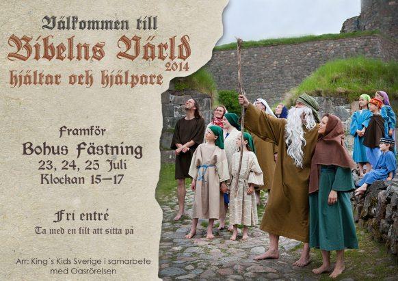 Bibelnsvärld affisch